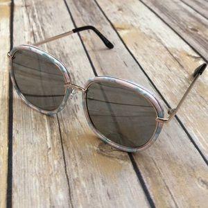 BRAND NEW Kids Confetti Sunglasses - Blue